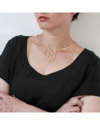 Dorota Todd - Metallic Loop Choker - Lyst