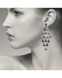 Latelita London | Pink Cascade Earring Rose Quartz Rosegold | Lyst