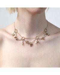 Tessa Metcalfe - Metallic Victoria Charm Necklace - Lyst
