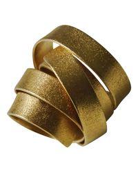 Linnie Mclarty | Metallic Aurum Gold Ring | Lyst