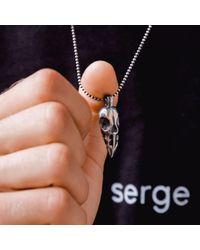 Serge Denimes | Metallic Ram Skull Pendant Necklace for Men | Lyst