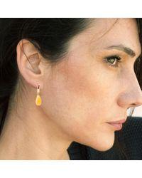 GFG Jewellery - Metallic Niki Earrings Yellow Quartz Garnet - Lyst