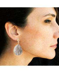 GFG Jewellery - Metallic Paloma Earrings - Lyst