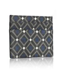 Mark Giusti - Blue All You Need Nappa Card Holder Venice Print & Navy for Men - Lyst