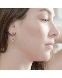 Agnes De Verneuil - Metallic Gold Earrings Graduated Suns - Lyst