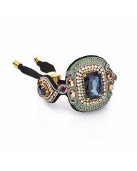 Izabela Felinski | Elegant Navy Blue Bracelet | Lyst