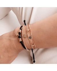 Sadekar Jewellery | Metallic Three Star Bracelet | Lyst