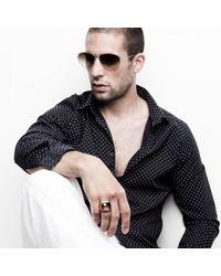 Oscar Graves - Metallic The Cuban for Men - Lyst