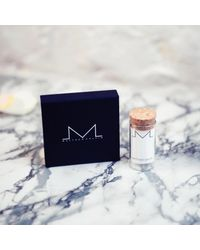 Matthew Calvin - Metallic Textured Meteorite Drop Bars Silver - Lyst