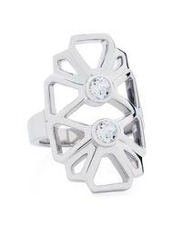 Sarah Ho - Sho | Metallic Daisy Ring | Lyst