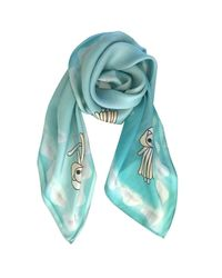 Supersweet x Moumi - Blue Sea Scarf - Lyst
