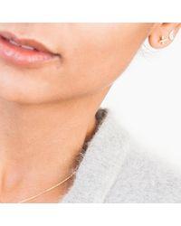Enelle - Metallic Cross Hatch Earring - Lyst