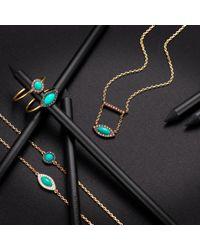 Elham and Issa Jewellery - Blue Awe Eye Sapphire Bracelet - Lyst