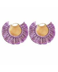 Ricardo Rodriguez Design | Pavone Earrings Purple | Lyst