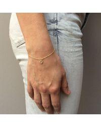 Agnes De Verneuil - Metallic Gold Bracelet Tiny Sun - Lyst