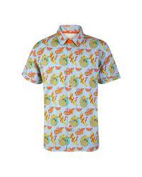 McIndoe Design | Blue Banana Print Shirt for Men | Lyst
