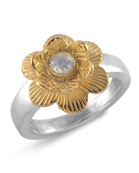 Emma Chapman Jewels - White Gypsy Rose Moonstone Ring - Lyst