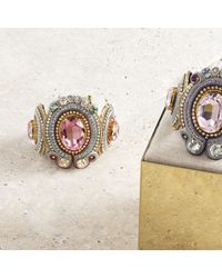 Izabela Felinski - Multicolor Majestic Pink Bracelet - Lyst