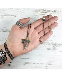 Brave Lotus - Metallic Brave Spirit Necklace - Lyst