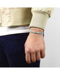 Esenelle - Blue Zac Bracelet for Men - Lyst