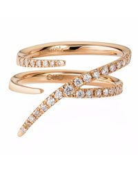 Sarah Ho - Sho - Metallic Numerati Ring Rose Gold Lucky Number 7 - Lyst