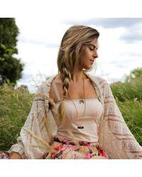 Tiana Jewel - Black Goddess Smokey Necklace Siena Collection - Lyst