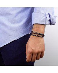 Esenelle | Black Matt Bracelet for Men | Lyst