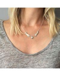 Agnes De Verneuil - Metallic Silver Necklace Claddagh - Lyst