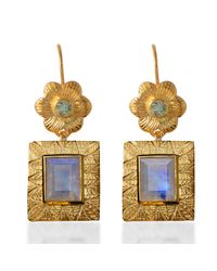 Emma Chapman Jewels   Gray Hayami Moonstone Earrings   Lyst
