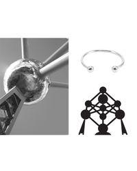 Mademoiselle Felee - Metallic Bruxelles Atomium Balls Fine Ring Gold - Lyst