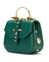 Okhtein - Mini Studded Green Gold - Lyst
