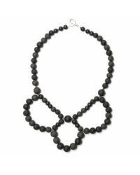 Hring Eftir Hring - Black Ballerina Necklace Coal - Lyst