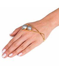 Leivan Kash - Metallic Oko Hand Cuff - Lyst