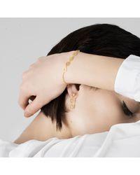 Muscari Jewellery - Metallic Tilegree Gold & Green Bracelet - Lyst