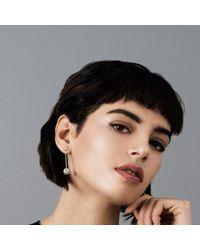 Muscari Jewellery - Metallic Full Moon Drop Earrings - Lyst