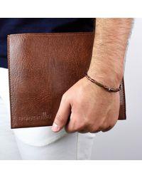 Esenelle - Brown Austin Bracelet for Men - Lyst
