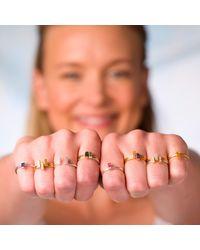 Nancy Rose Jewellery - Metallic Ingot Ring Silver - Lyst