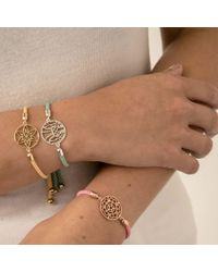 Hoochie Mama - Multicolor Rose Medallion Friendship Bracelet - Lyst