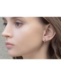 S/H KOH - Multicolor Discreet Diamond Earring - Lyst