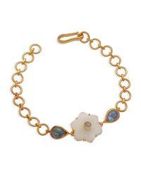 Emma Chapman Jewels - Jamila White Moonstone Bracelet - Lyst