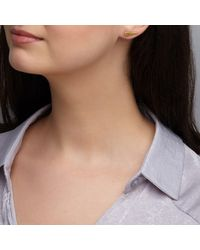 Dione London - Metallic Vela Wing Ear Cuff - Lyst