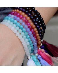 Jiya Jewellery - Multicolor Fiji Bracelet Maroon - Lyst