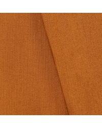 WtR - Orange Swanky V-neck Panelled Top Mustard - Lyst