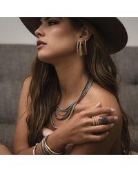 Durrah Jewelry - Metallic Silver Dream Necklace - Lyst