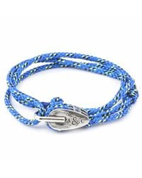 Anchor & Crew - All Blue Tyne Rope Bracelet for Men - Lyst