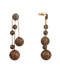Latelita London - Multicolor Studio 54 Earring Oxidised Copper - Lyst