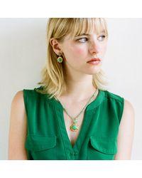 Emma Chapman Jewels - Green Isa Chrysoprase Earrings - Lyst