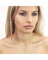 Talia Naomi - Metallic Khaleesi Rounded Hooped Earrings Gold - Lyst