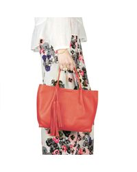 Nadia Minkoff - The Richmond Midi Tote Orange - Lyst