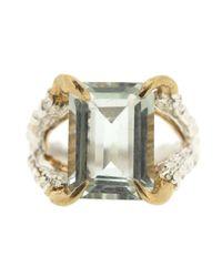 Tessa Metcalfe - Multicolor Green Quartz Claws Of Engagement - Lyst